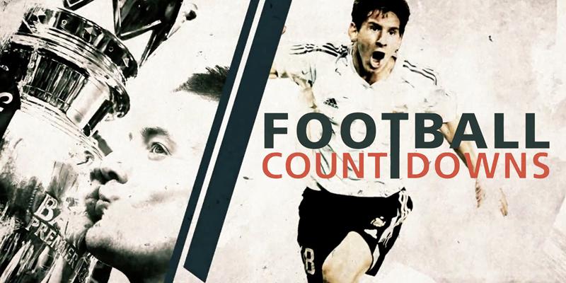 FOOTBALL COUNTDOWNS特集